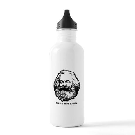 Marx Not Santa Stainless Water Bottle 1.0L