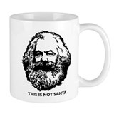 Marx Not Santa Coffee Mug