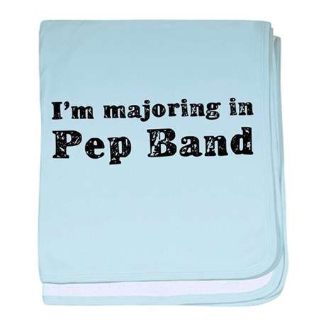 Pep Band baby blanket