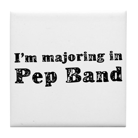 Pep Band Tile Coaster