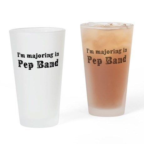 Pep Band Drinking Glass