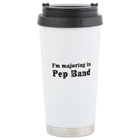 Pep Band Ceramic Travel Mug