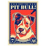 Obey the Pit Bull! USA Propaganda