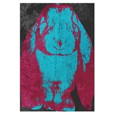 Warhol Style English Lop (Blu
