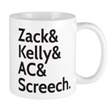 Zack & Kelly Small Mugs
