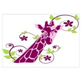 Cute  cute giraffes Wall Art
