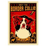 Border Collie! Large Propaganda