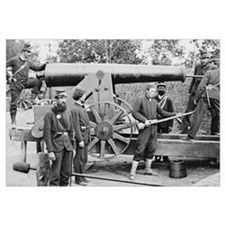 Cannon Ft Woodbury 1863