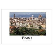 View of Firenze from the Piazza Michelangelo