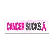Cancer Sucks Car Magnet 10 x 3