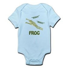 Ribbitt Frog Infant Bodysuit