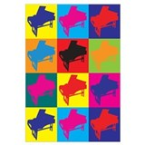 Harpsichord Pop Art