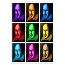 Pop Art Shakespeare (Ver. 2)