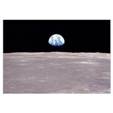 Apollo 11 Earthrise on the Moon