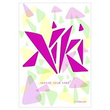 Niki Pink Triangles