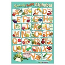 Large Healthy Alphabet