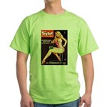 Titter Hot Beauty Queen Girl Green T-Shirt