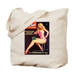 Titter Hot Beauty Queen Girl Tote Bag