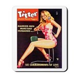 Titter Hot Beauty Queen Girl Mousepad