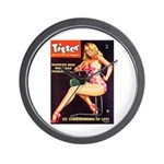 Titter Hot Beauty Queen Girl Wall Clock