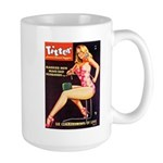 Titter Hot Beauty Queen Girl Large Mug