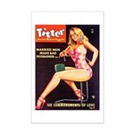Titter Hot Beauty Queen Girl Mini Poster Print