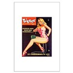 Titter Hot Beauty Queen Girl Large Poster