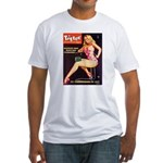 Titter Hot Beauty Queen Girl Fitted T-Shirt