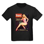 Titter Hot Beauty Queen Girl Kids Dark T-Shirt