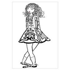 Cute Irish dancing Wall Art