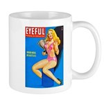 Eyeful Blonde Beauty Girl Cover Mug