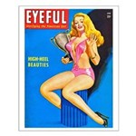Eyeful Blonde Beauty Girl Cover Small Poster