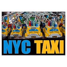 NYC Taxi Globes Fine Print