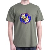 NoAmn US Border Patrol SpAgen Black T-Shirt