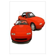 Cool Mazda miata Wall Art