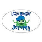 Little Monster Jeremy Sticker (Oval)