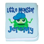 Little Monster Jeremy baby blanket
