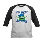 Little Monster Jeremy Kids Baseball Jersey