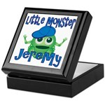 Little Monster Jeremy Keepsake Box