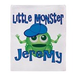 Little Monster Jeremy Throw Blanket