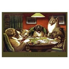 A Waterloo Dog Poker