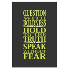 Question With Boldness