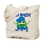Little Monster Jim Tote Bag