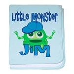 Little Monster Jim baby blanket