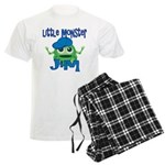 Little Monster Jim Men's Light Pajamas
