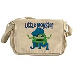 Little Monster Jim Messenger Bag