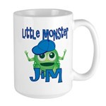 Little Monster Jim Large Mug