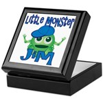 Little Monster Jim Keepsake Box