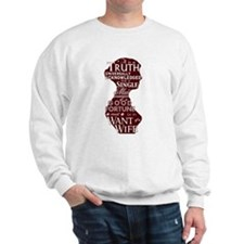 Jane Austen Quote (F/B) Sweatshirt