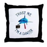 I'm a Lawyer Throw Pillow